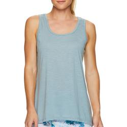 Active Solid Sleevless Criss Cross Back Detail