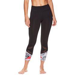 Gaiam Womens OM Eva Align Capri Leggings