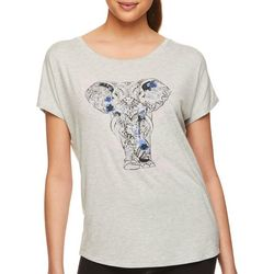 Gaiam Womens Intention Elephant T-Shirt