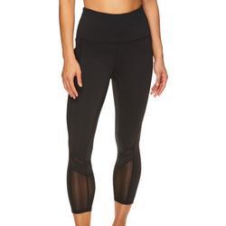 Womens OM Mesh Detail Capri Leggings