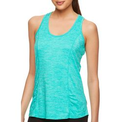 Gaiam Womens Solid Heathered Energy Tank Top