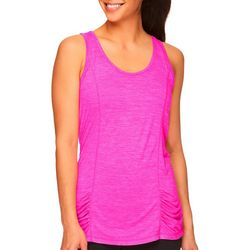 Womens Solid Heathered Energy Tank Top