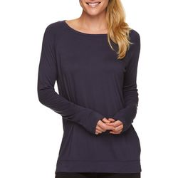 Gaiam Womens Ruby Strappy Back Long Sleeve Top