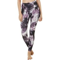 Gaiam Womens OM Graphic Print High Rise Capri
