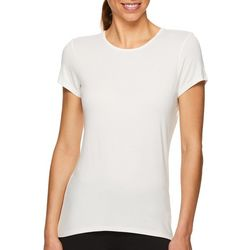 Gaiam Womens Mystic Solid Lattice Back Top