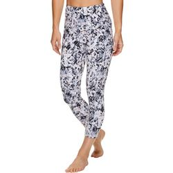 Gaiam Womens OM Cella Print High Rise Capri Leggings