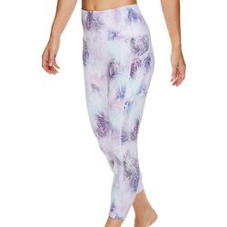 Gaiam Womens OM Graphic Design High Rise Capri
