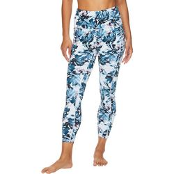 Gaiam Womens Floral Print High Rise Leggings