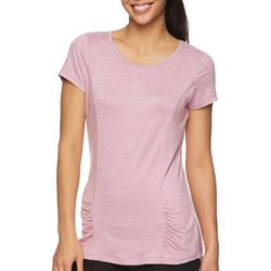 Womens Energy Rouched Detail Short Sleeve