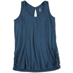 Active Solid Sleevless Top