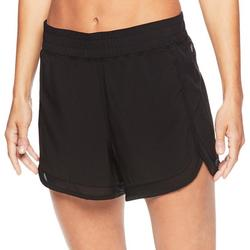 Womens Woven Athletic Shorts