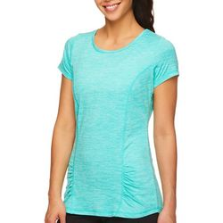 Gaiam Womens Energy Rouched Detail T-Shirt