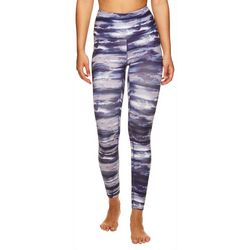 Womens Om Watercolor Graphic Leggings