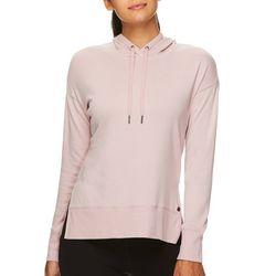 Gaiam Womens Harlow Solid Long Sleeve Hooded Sweatshirt