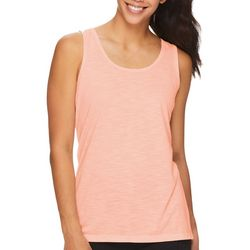 Gaiam Womens Solid Crisscross Back Tank Top