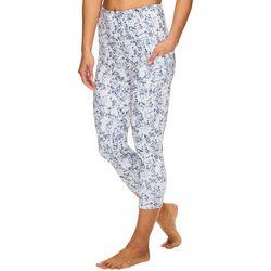 Womens Aryn Graphic High Rise Capri Leggings
