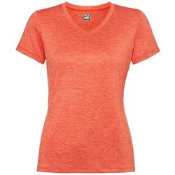 Fila Womens Heathered Solid V-Neck T-Shirt