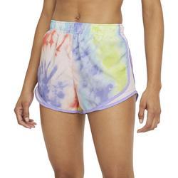 Womens Running Tie-Dye Shorts