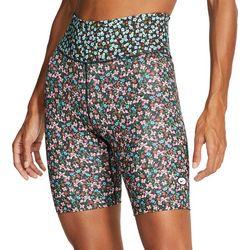 Nike Womens Floral Print Bike Shorts