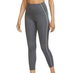 Nike Womens Solid Heathered Crop Leggings