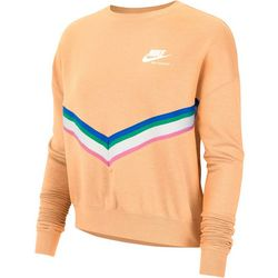 Nike Womens Heritage Fleece Pull Over Sweatshirt