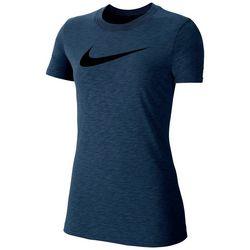 Nike Women's Space Dye Swoosh Logo Top
