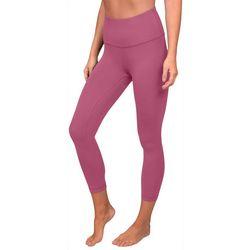 Yogalicious Womens Squat Proof Interlink Capri Leggings
