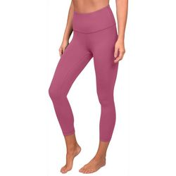 Womens Squat Proof Interlink Capri Leggings