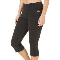 Womens Cropped Flared Yoga Capris