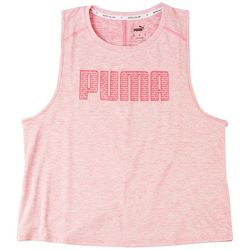 Puma Womens Logo V-Neck Sleevless Top