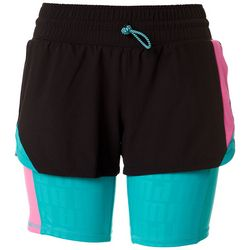 Puma Womens Colorblock Training Shorts
