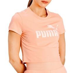 Womens Solid Logo Tshirt