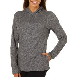 Reel Legends Womens Ultra Comfort Solid Heathered Top
