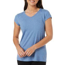 Reel Legends Womens Ultra Comfort Solid Cap Sleeve Top
