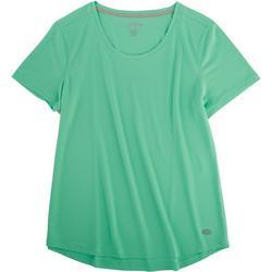 Womens Freeline Scoop Neck Short Sleeve Top