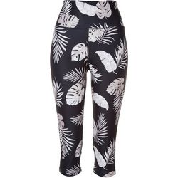 Reel Legends Womens Tropical Print Leggings