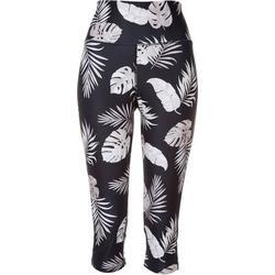 Womens Tropical Print Leggings