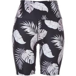 Womens Tropical Biker Shorts