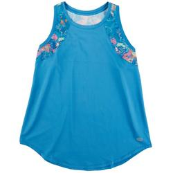 Womens Floral Print Tank Top