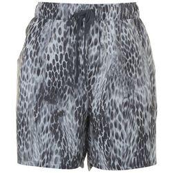 Reel Legends Womens Leopard Print Shorts