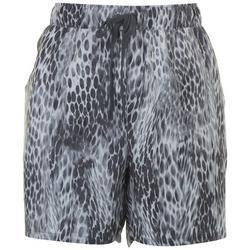 Womens Leopard Print Shorts