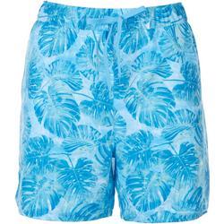 Womens Jungle Palms Skin Shorts