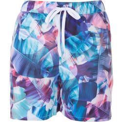 Womens Palm Tree Shorts