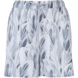 Reel Legends Womens Leaf Layered Print Shorts