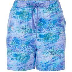Reel Legends Womens Pattern Shorts