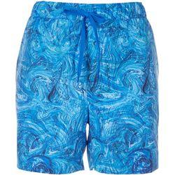 Reel Legends Womens Marbeled Shorts