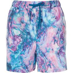 Womens Tropical Pull On Shorts