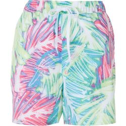 Reel Legends Womens Tropical Pull Shorts