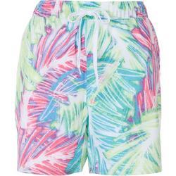 Womens Tropical Pull Shorts