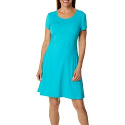 Reel Legends Womens Keep It Cool Cascade Palms Dress